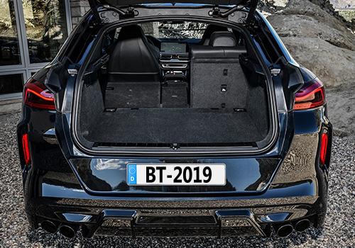 BMW X6 M espacio