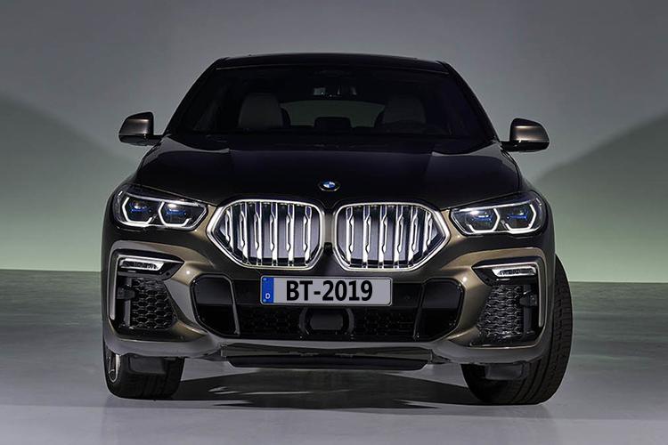 BMW X6 vehiculo con motor v8 en gama mas alta