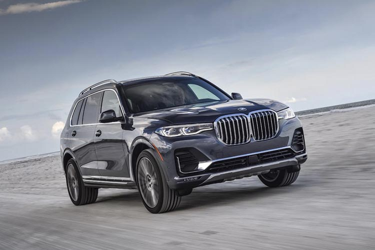 BMW X7 SUV de lujo