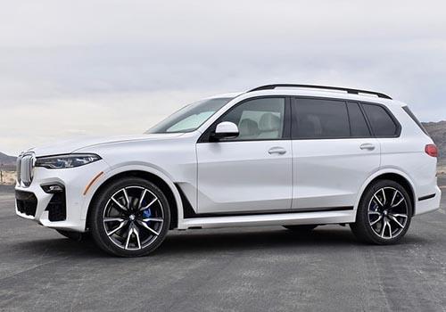 BMW X7 de perfil
