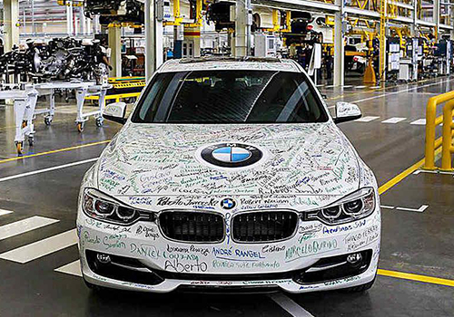 BMW comienza a ensamblar serie 3