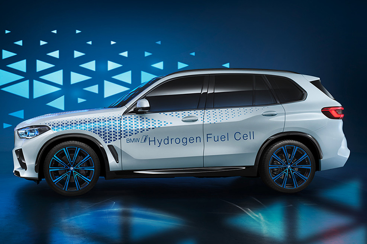 BMW i Hydrogen tecnologia