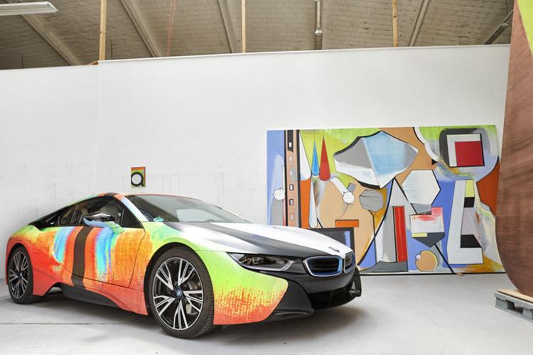 BMW i8 colección del artista Thomas Scheibitz