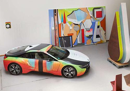 colores fusión de color lienzo obra de arte estampado estilo