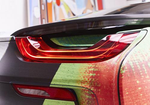 luces faros vehiculo motor hibrido enchufable velocidad ecologico estampado