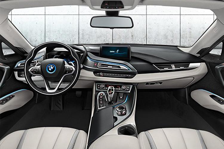 BMW i8 se despide - interior