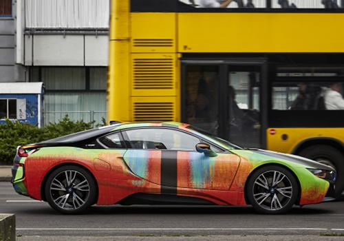 BMW i8 velocidad y rendimiento