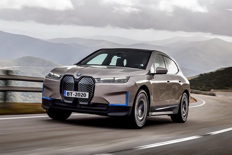 BMW iX 100% eléctrico nuevos modelos