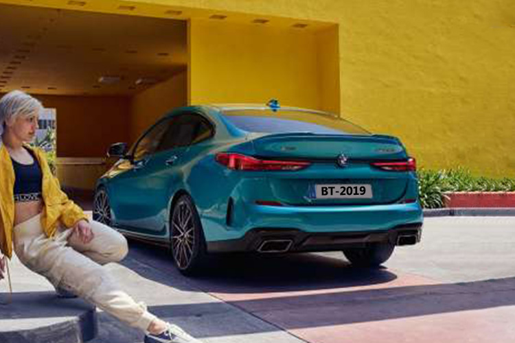 BMW serie 2 gran coupé vehiculo