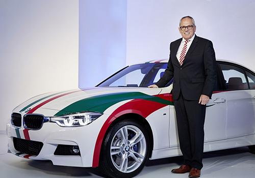BMW comienza a ensamblar en México BMW serie 3 con los colores de la bandera de México