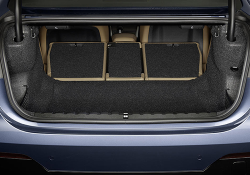 BMW serie 4 2021 espacio en cajuela