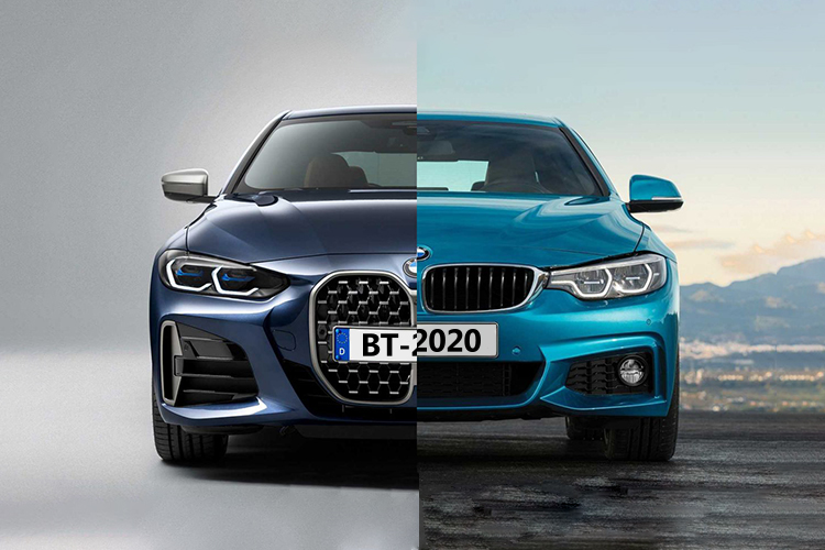 BMW serie 4 2021 rediseñado