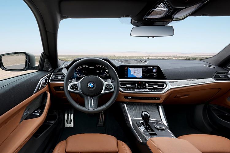 BMW serie 4 2021 sistema de infoentretenimiento