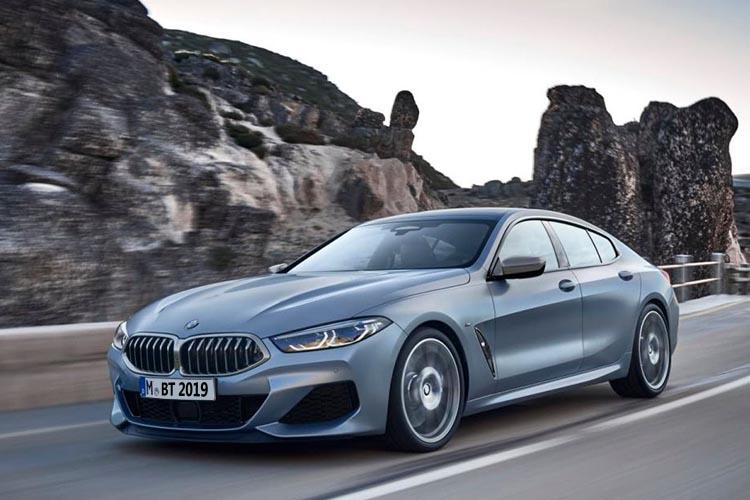 BMW serie 8 Gran Coupé vehiculo modelo BMW con 4 puertas europa