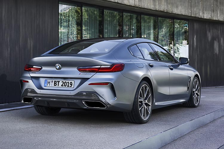 BMW serie 8 Gran Coupé vehiculo nueva generación
