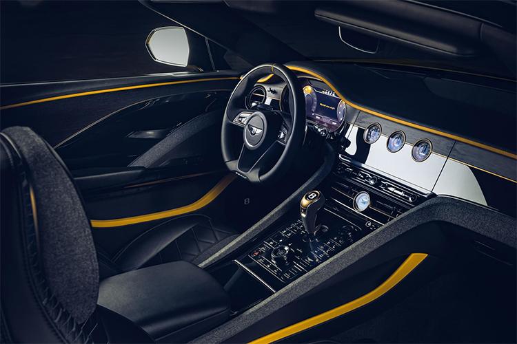 Bentley Bacalar Sistema de infoentretenimiento