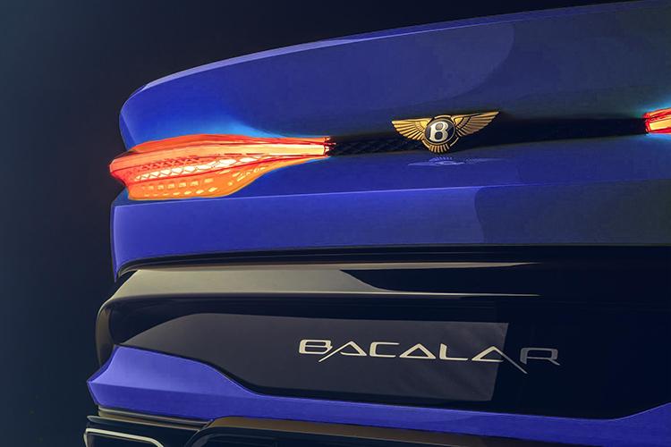 Bentley Bacalar diseño