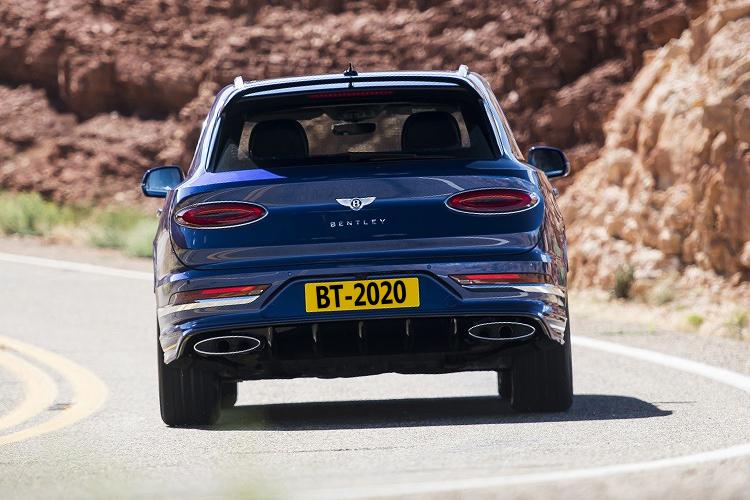 Bentley Bentayga Speed 2021 desempeño