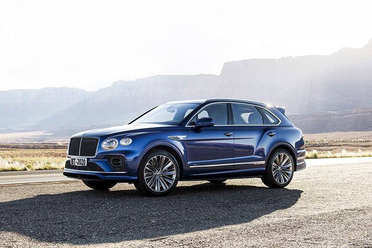Bentley Bentayga Speed 2021 tecnología