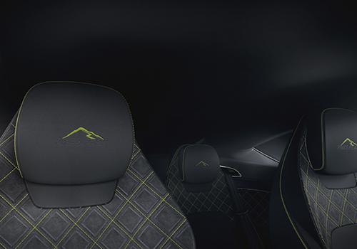 limited Edition Pikes Peak asientos con emblema