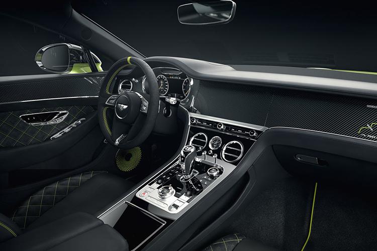 Bentley Continental GT limited Edition Pikes Peak interior cuadro de instrumentos