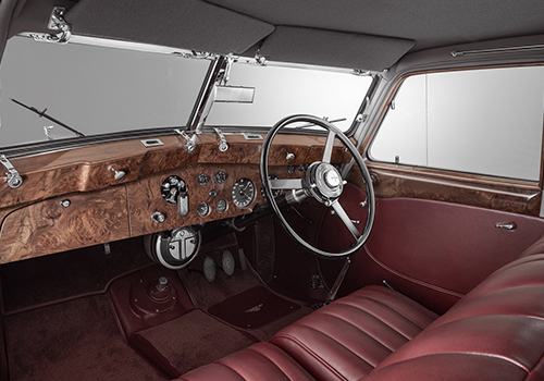 replica del 1939 interior