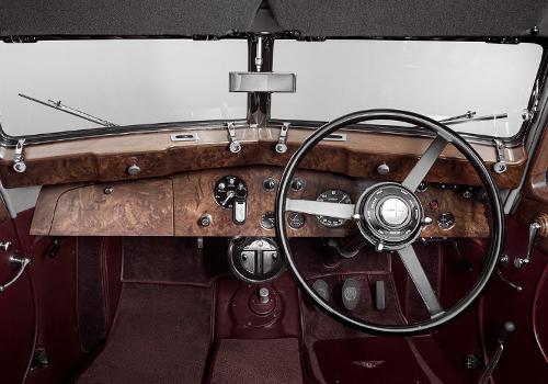 1939 tablero y volante