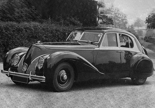 hypercar 1939 en pruebaas