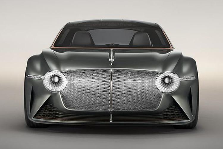 Bentley EXP 100 GT 700 kilometros autonomia