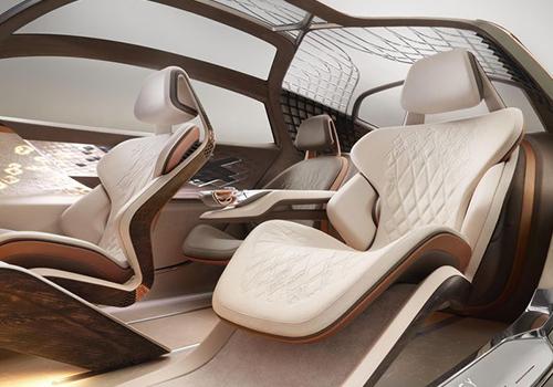 interior futurista vehiculo