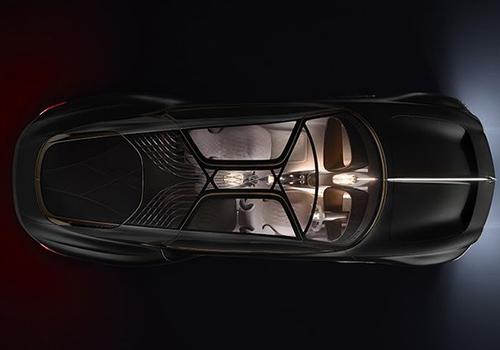 Bentley EXP 100 GT luz interior