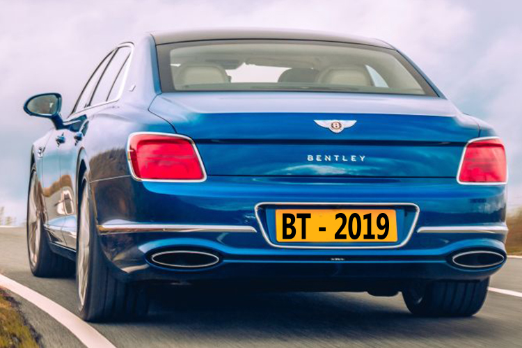 Bentley Flying Spur First Edition tecnologia