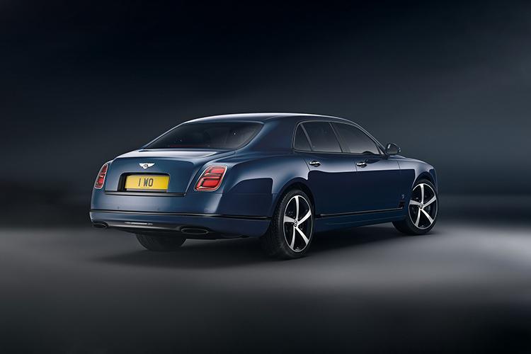 Bentley Mulsanne 6.75 edition carrocería