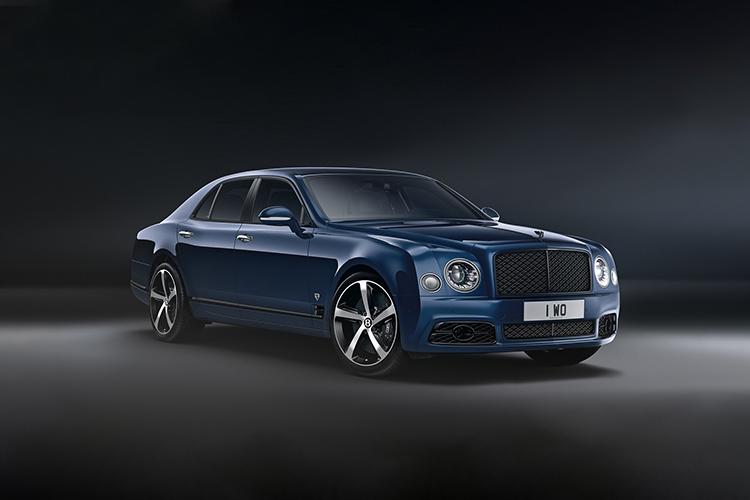Bentley Mulsanne 6.75 edition despedida de Mulsanne