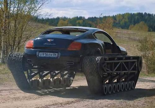 Bentley Ultratank con nuevo motor V8 Audi