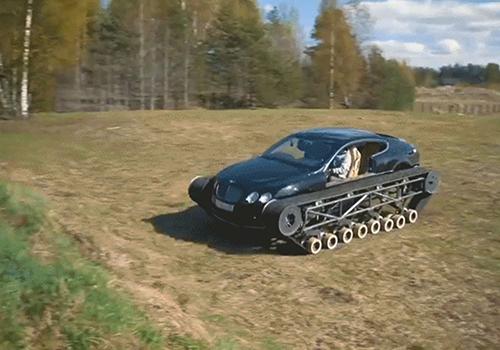 Bentley Ultratank espera llegar a los 100 km por hora