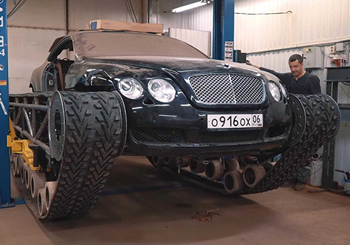 Bentley Ultratank vehiculo modificado