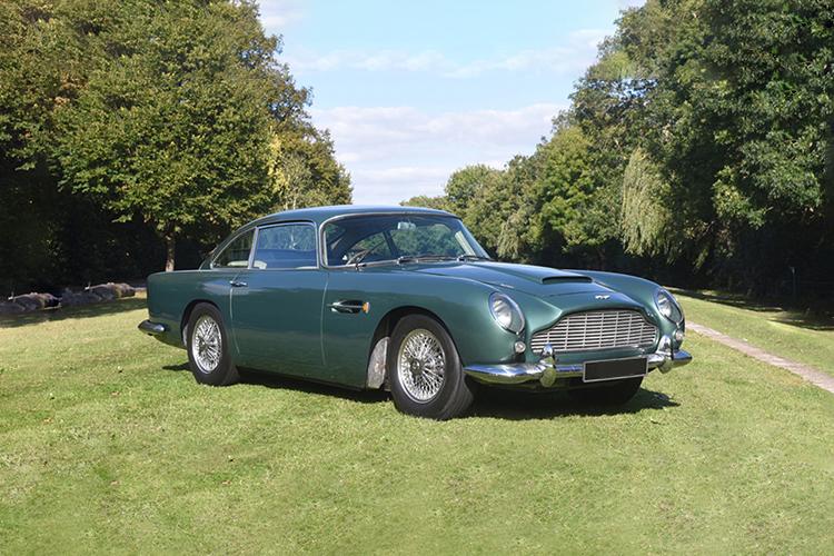 Black Bowmore DB5 1964 edición especial Aston Martin DB5 1964 unidades limitadas