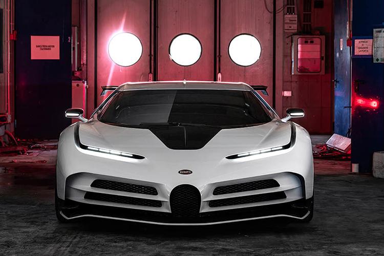 Bugatti Centodieci limitado a 10 unidades