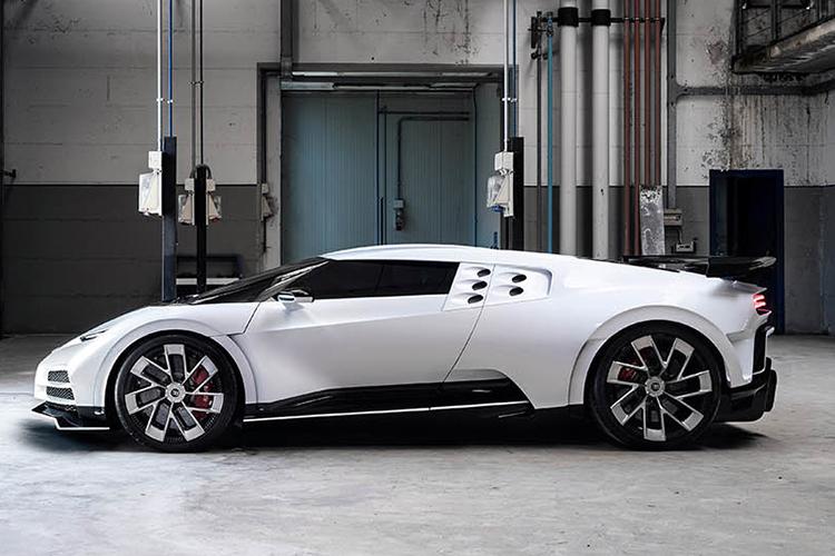 Bugatti Centodieci motor