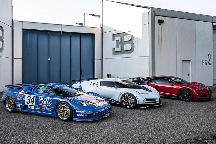 Bugatti Centodieci prestaciones