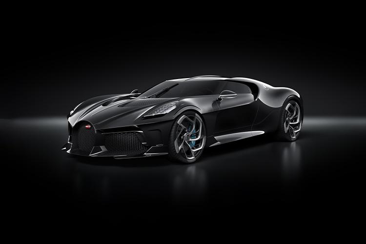 Bugatti Chiron Noire - La Voiture Noire vehículo edición one-off negro