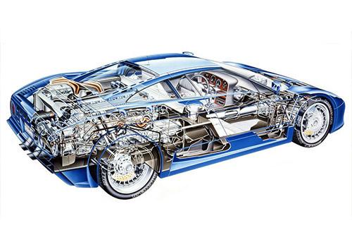 Bugatti EB 110 innovaciones hypercar historico Romano Artioli