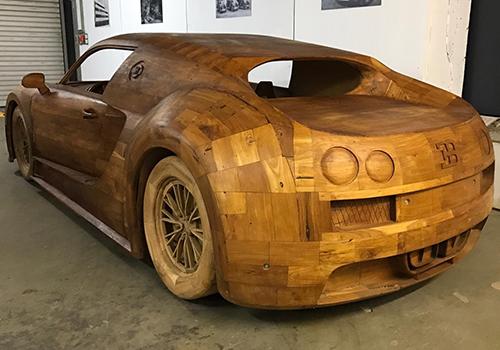 construido en madera