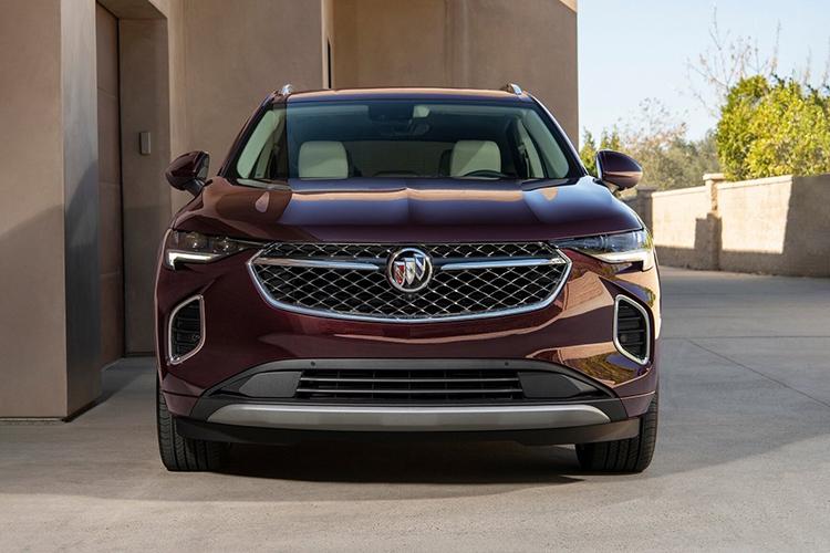 Buick Envision 2021 renovada pick-up diseño