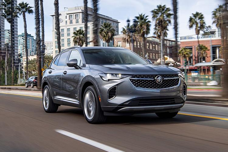 Buick Envision 2021 renovada pick-up innovaciones tecnología