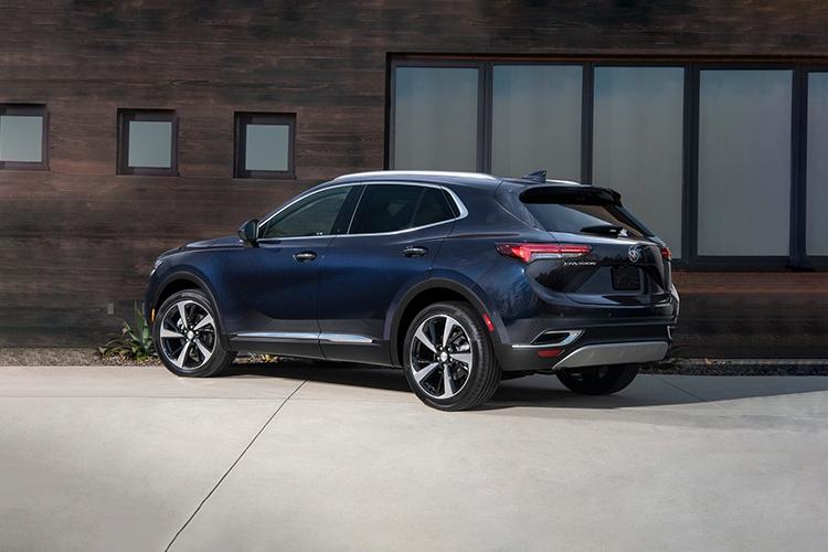 Buick Envision 2021 renovada pick-up modelos