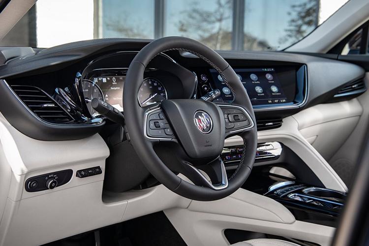 Buick Envision 2021 renovada pick-up sistema de infoentretenimiento