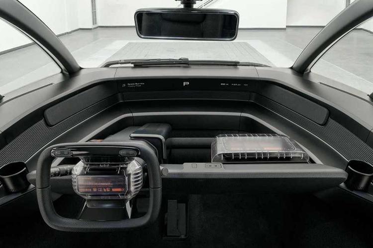 Canoo Electric pickup sistema de infoentretenimiento
