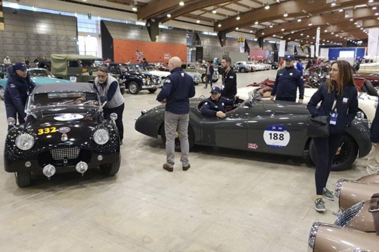 1000 Miglia con marcas italianas y marcas europeas